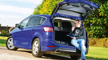 Ford S-MAX long-term - final report header