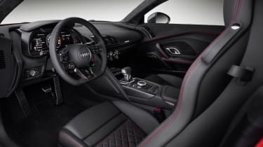 Audi R8 V10 interior - Footballers' cars