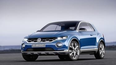 VW T-ROC concept 2014 static