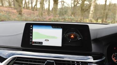 BMW 5 Series 2017 - 540i infotainment