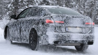 BMW 2 Series Gran Coupe spies - winter rear 3/4
