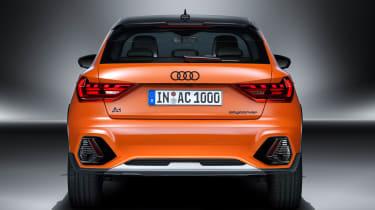 Audi A1 Citycarver - full rear studio