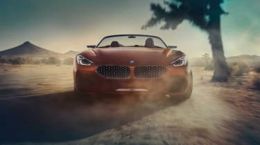 BMW Concept Z4 leaked - full front