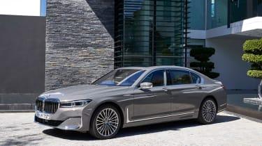 BMW 750i - front static