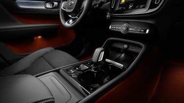 Volvo XC40 - centre console