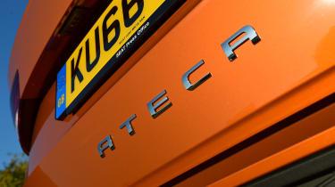 SEAT Ateca long term final report - rear badge