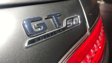 Mercedes-AMG GT C Edition 50 - show badge