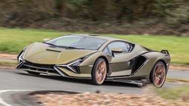 Lamborghini Sian - front cornering