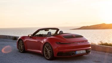 New Porsche 911 Cabriolet 2019 static