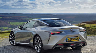 Lexus LC - rear static