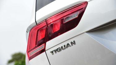 Volkswagen Tiguan - Tiguan badge