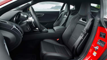 Jaguar F-Type 4-cyl review - interior