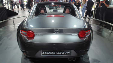 Mazda MX-5 RF - full rear Goodwood