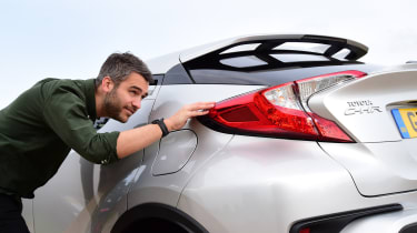 Toyota C-HR - inspection