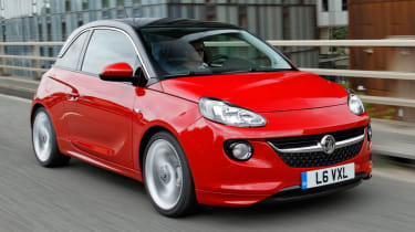 The Adam is Vauxhall's answer to the premium superminis, offering more style and personalisation to take on the likes of the Audi A1, the Citroen DS3 and the Mini.