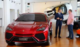Stephan Winkelman Steve Sutcliffe Lamborghini Urus