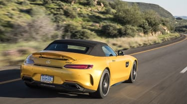 Mercedes-AMG GT C Roadster 2017 - rear tracking 2