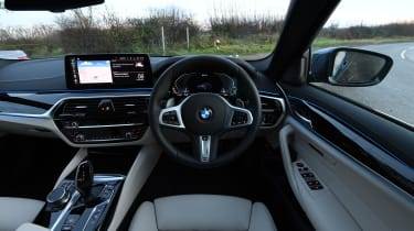 BMW 5 Series - interior