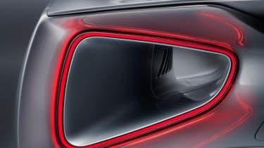 Lotus Evija rear light