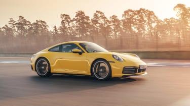 Porsche 911 - side action