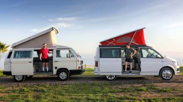 Volkswagen California twin camp