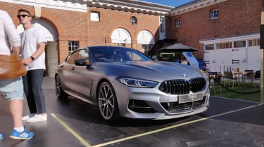 BMW 8 Series Gran Coupe - Goodwood 2019
