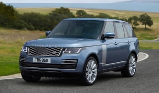 Updated Range Rover - front