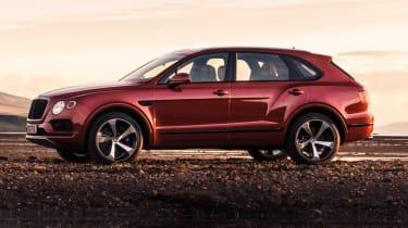 Bentley Bentayga V8 petrol announced - side static