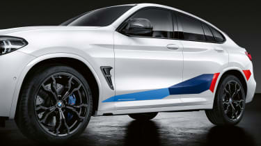 BMW X4 M with M Performance parts - side