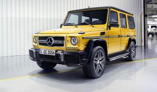 Mercedes G-Class 2015 front yellow