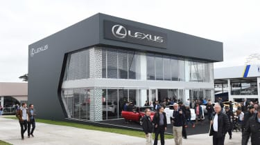 Lexus Goodwood stand