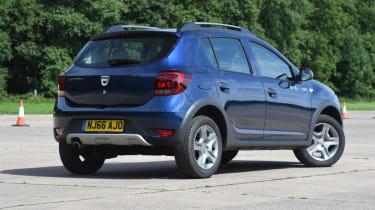 Dacia Sandero Stepway -  parked rear