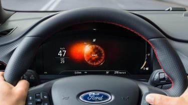 Ford Puma - dash sport