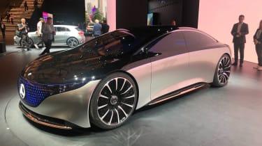 Mercedes EQS - front