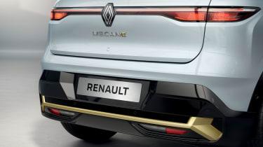 Renault Megane E-Tech Electric SUV - rear detail
