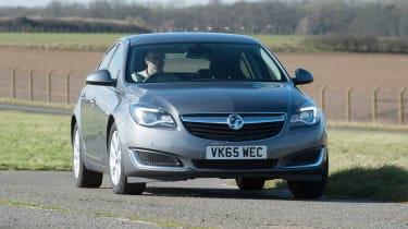 Vauxhall Insignia - cornering