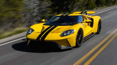 Ford GT - front action 2