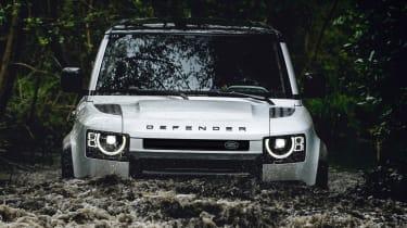 2019 Land Rover Defender wading
