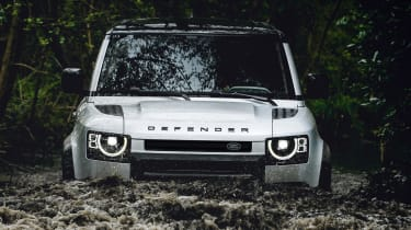 2019 Land Rover Defender wading