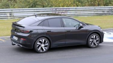 Volkswagen iD.5 spy - rear cornering