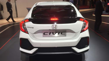 Honda Civic - Paris rear