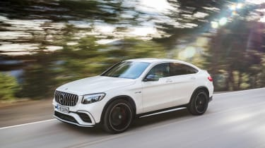 Mercedes-AMG GLC 63 Coupe driving