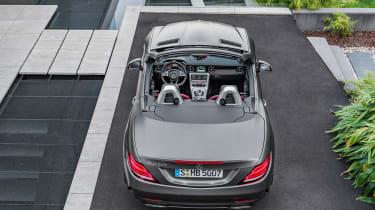 Mercedes SLC roadster - rear