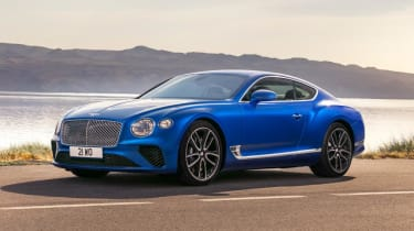 Bentley Continental GT front - Footballers' cars