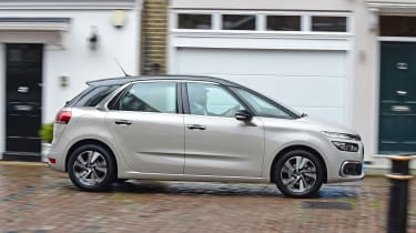 Citroen C4 Picasso long termer third report - side