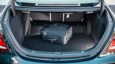 Mercedes E-Class - boot