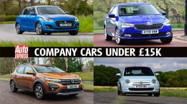 Company cars under £15k - header
