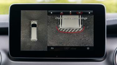 Mercedes V-Class - info screen