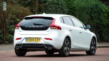 Volvo V40 long-term - first report rear action