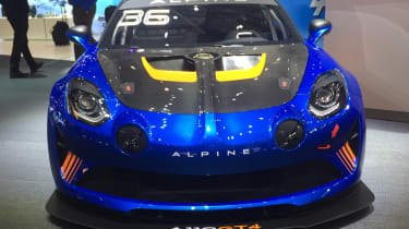 Alpine A110 GT4 front end